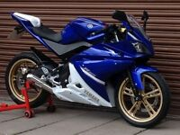Yamaha YZF R125 Low Miles Only 6325. Delivery Available *Credit & Debit Cards Accepted*