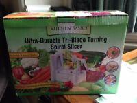 Kuuk Kitchen Grater (6 in1) and Tri-Blade Spiral Slicer (spiralizer)