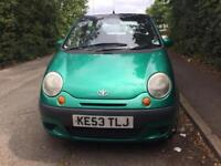 Daewoo Matiz se plus 1.0 5 doors 2003 in excellent condition 1 year MOT