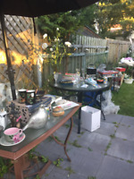 Yard sale: Moving out of town