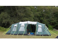 Family tent - SunnCamp Haven 800 – 8 berth