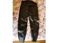 Hein Gericke leather jeans trousers motorcycle motorbike leathers great condition