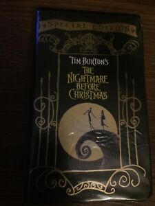 Disney's Nightmare Before Christmas on VHS in Great Condition