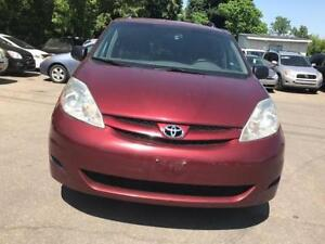 2008 Toyota Sienna CE,7 SEATS PL,PW,CD,RaDIO,AC CERTIFIED