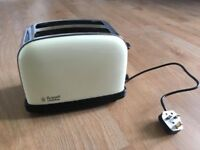 Russell Hobbs 2 slice cream toaster