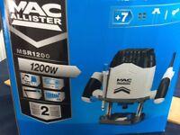 Mac allister router