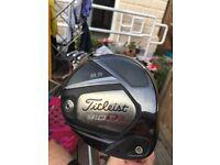 Titleist 910 D3 stiff graphite shaft driver for sale