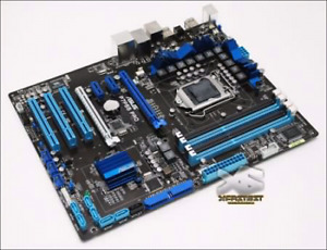 Asus motherboard, i5 750 cpu, 16gb ram