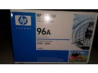 HP Laserjet 96A Printer Cartridge - ORIGINAL - for 2100-2200 printer series. £28 plus free delivery