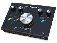 Brand New M-Audio M-Track 2x2 Audio Interface