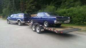 Need a car or truck hauled From B.C. To Alberta?
