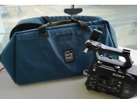 Camera bag that fits cameras like EX1 and FS700 nicely