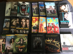 DVD Series télé : AHS, Homeland, Game of thrones, Weeds, Etc