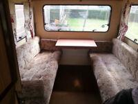 2 birth pop up caravan ,,
