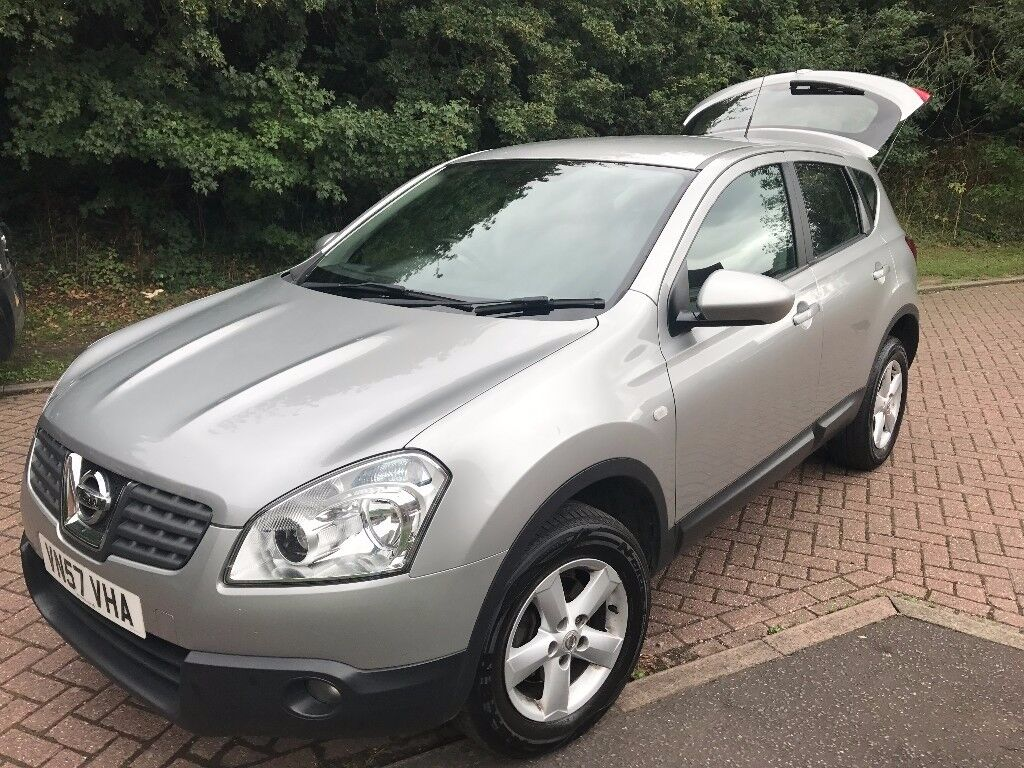 2008 nissan qashqai 1 5 dci diesel acenta full service historry and mot apr 2018 in. Black Bedroom Furniture Sets. Home Design Ideas