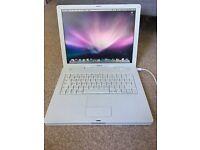 Laptop. Apple iBook G4