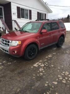 2008 Ford Escape Limited 4x4