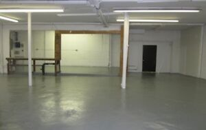 WORKSHOP OFFICE or RETAIL Space - Downtown Giant Tiger & Pitt St