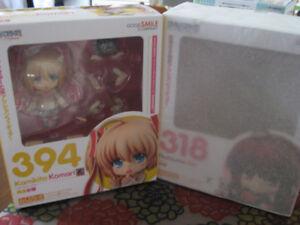 Little Busters Nendoroids Rin and Komari