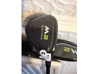 Taylormade 2017 M2 Hybrid Golf Club. Like New, Used once