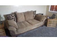 Three seater scs sofa