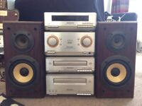 Technics SE-HD350 Stacking System CD Player - Tuner, Amp, CD, Cassette, and Speakers