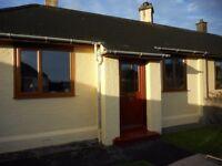 Unfurnished 3 bedroom semi detached cottage Invergordon