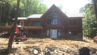 Johnson log home restorations !! CALL NOW