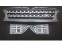 Genuine range rover sport grill and side vents for 2010-14