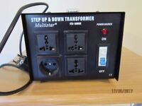Multistar Step Up and Step Down Transformer