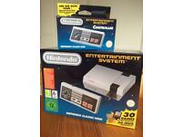 Nintendo NES -brand new!!! incl 2 controllers