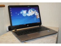 "Mega fast HP 450 G2 15.6"" 4th Gen i5 HDMI USB 3.0 laptop. 12GB DDR3 RAM. 500GB hard drive."