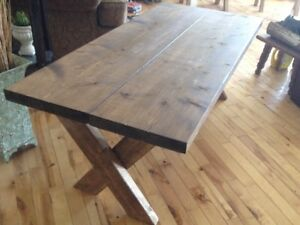 "Rustic coffee table h 18"" w 22"" l 48"" $80.00"