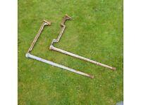 Belfast Sink Legs & Brackets (pair of)