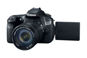 Canon 60D DSLR Camera with 2 Lenses