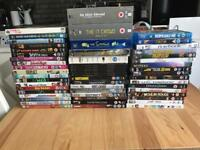 Collection of 50 DVDs and Blu-rays