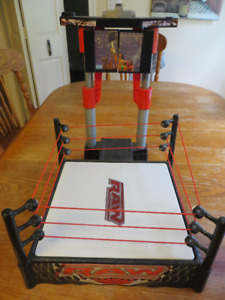 WWE Action Figures & Fighting Rings
