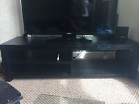 Black amazing condition table& table and coffee table