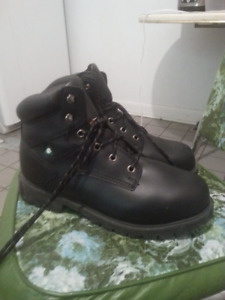 Steel Toe Boots - Size 10