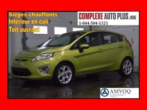2011 Ford Fiesta SES Hatchback*Cuir,Mags,Toit ouvrant