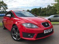 SEAT Leon 2.0 TDI FR DSG (red) 2012