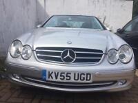 Mercedes-Benz CLK AVANTGARDE 2.7 2dr Diesel. Auto. FSH. Leather.