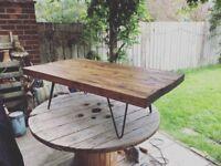 Reclaimed Scaffold Board Coffee Table