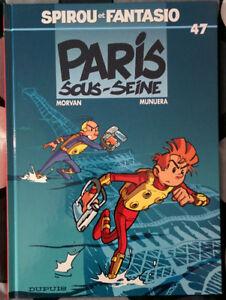 BD Spirou et Fantasio - Paris Sous-Seine