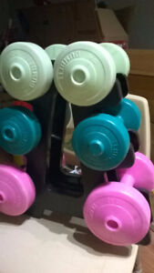 sets of plastic weights