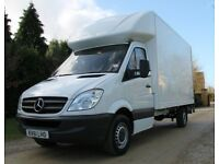 Man and Van from £25 p/h Professional Removal Services Same Day Deliveries Van Hire