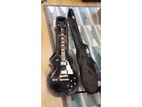 Epiphone Les Paul Limited Edition Black with Hard Case