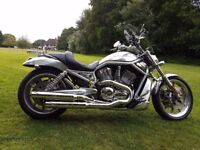 ***NOW SOLD*** HARLEY DAVIDSON V ROD FANTASTIC CONDITION LOADS OF HARLEY EXTRAS