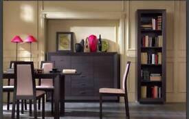 Dark Brown Furniture set of 4 pieces