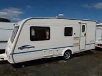 Bailey Ranger 510/4 four berth caravan